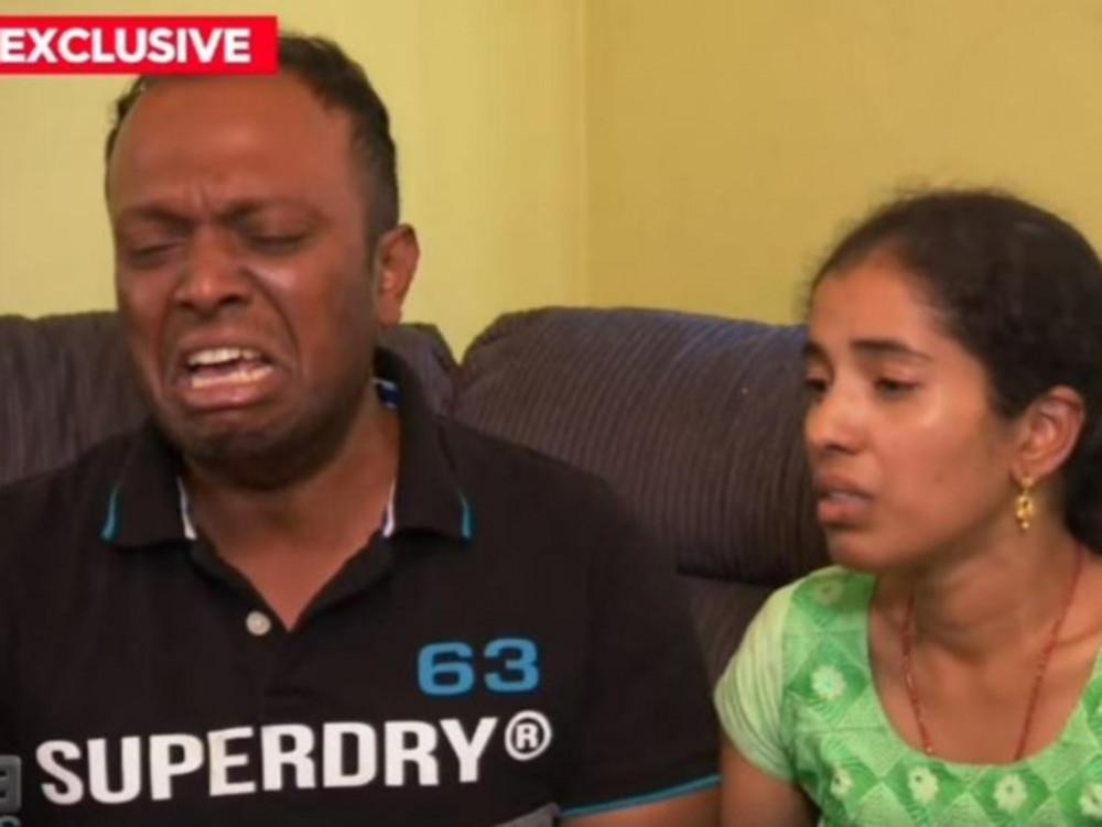 Bố mẹ cô bé Aishwarya không chịu nổi cú sốc mất con - Ảnh: