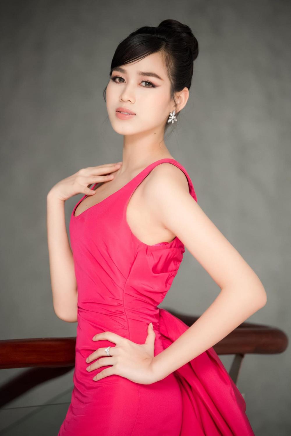 Hoa hậu Đỗ Thị Hà có da nền tương đối khoẻ