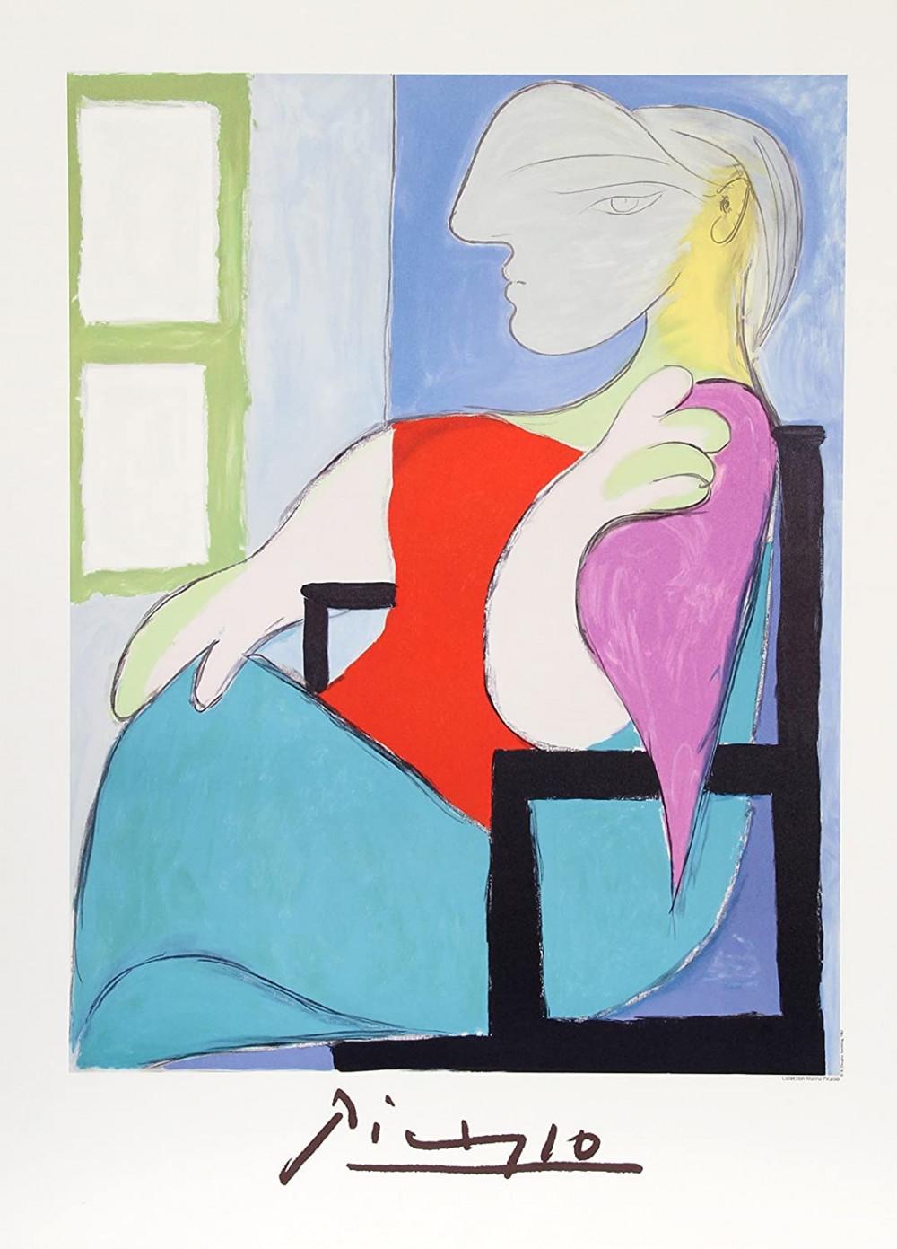 Bức Marie-Thérèse của danh hoạ Picasso.