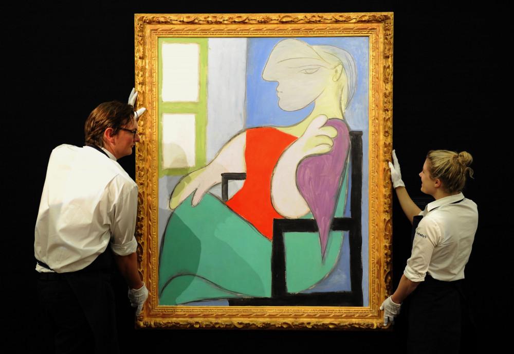 Dự kiến bức tranh sẽ được bán với giá 55 triệu đô la Mỹ.