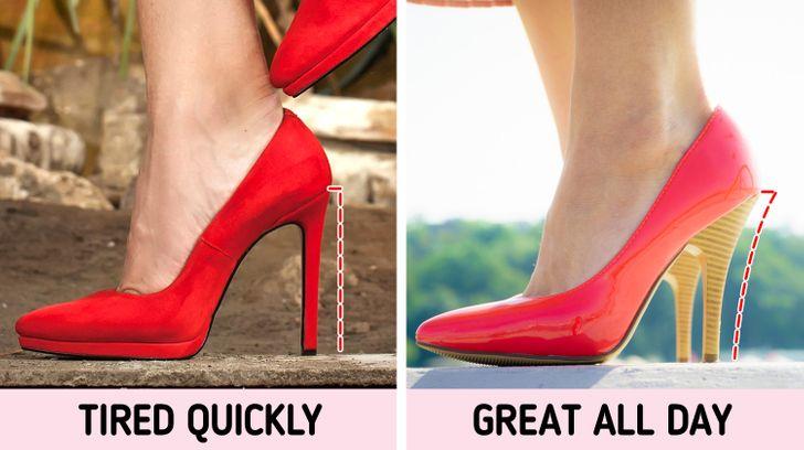 1. Bỏ qua vị trí của gót chân: