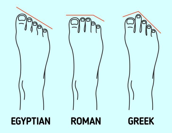 8. Không xem xét đến hình dạng của bàn chân: