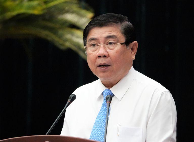 Chủ tịch TPHCM Nguyễn Thành Phong cho rằng