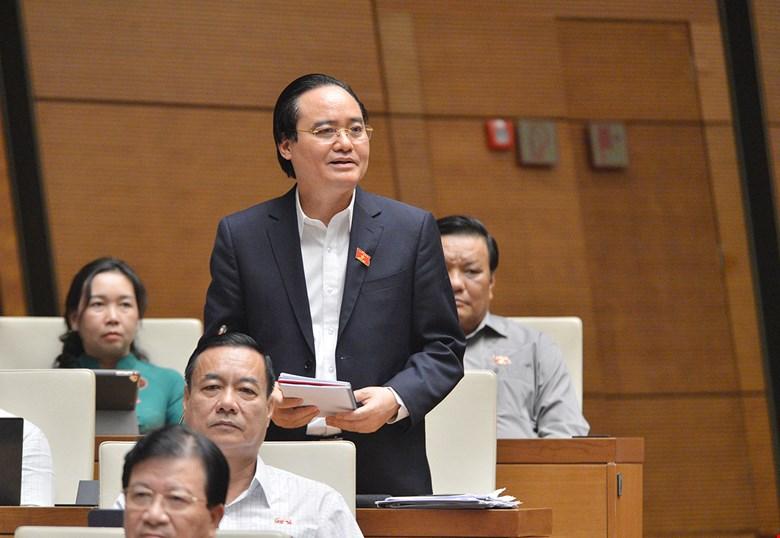 Thủ tướng trình miễn nhiệm Bộ trưởng Bô Giáo dục Phùng Xuân Nhạ