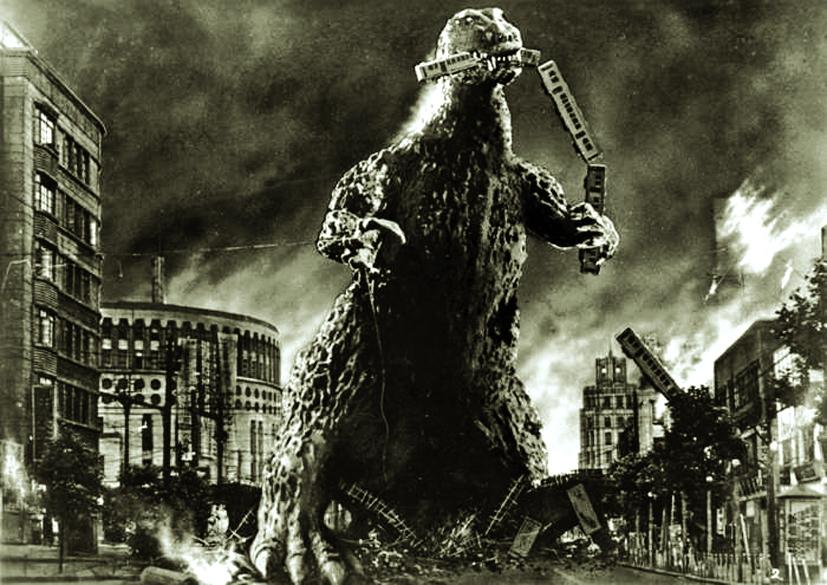 Godzilla trong phiên bản điện ảnh năm 1954