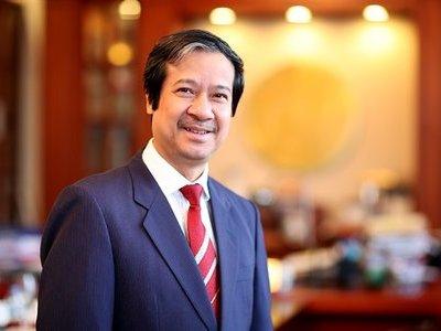 Ông Nguyễn Kim Sơn là người kế nhiệm ông Phùng Xuân Nhạ giữ chức Bộ trưởng Bộ giáo dục và đào tạo