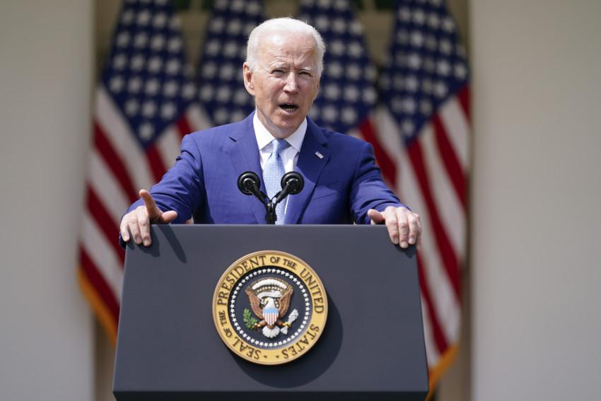 Tổng thống Joe Biden phát biểu về phòng chống bạo lực súng đạn trong Vườn Hồng tại Nhà Trắng