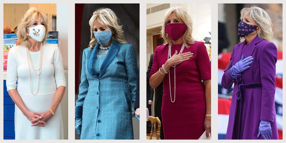 Trước đó, bà Jill Biden luôn ghi điểm với công chúng nhờ phong cách thời trang thanh lịch và hợp thời của mình. Bà ưa chuộng những bộ cánh dáng dài, tối giản về chi tiết và có tông màu trang nhã.