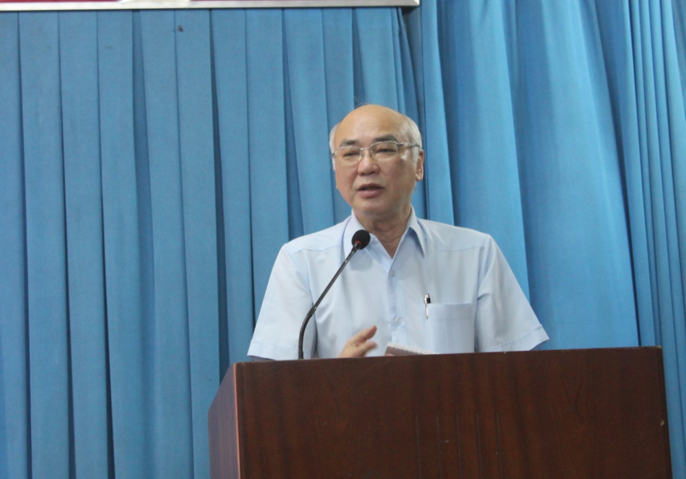 Ông Phan Nguyễn Như Khuê hứa tiếp tục đấu tranh cho nguyện vọng chính đáng của người dân.