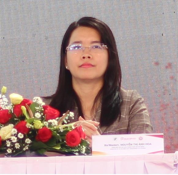 'Giải Marathon Quốc tế TPHCM Techcombank là một trong những sự kiện quảng bá du lịch TPHCM, bà Nguyễn Thị Ánh Hoa - Phó giám đốc Sở Du lịch TPHCM nhận định - Ảnh: Huỳnh Hằng