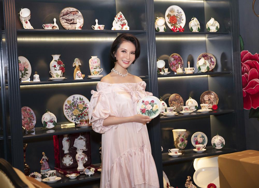 Để diện được mọi kiểu trang phục, Thanh Mai rất chăm chút cho vóc dáng.