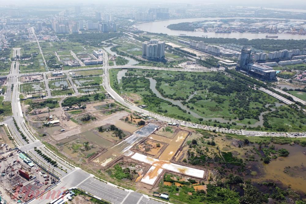 Cầu Thủ Thiêm 2 là một trong 3 tuyến đường chính nối trung tâm TPHCM với TP Thủ Đức
