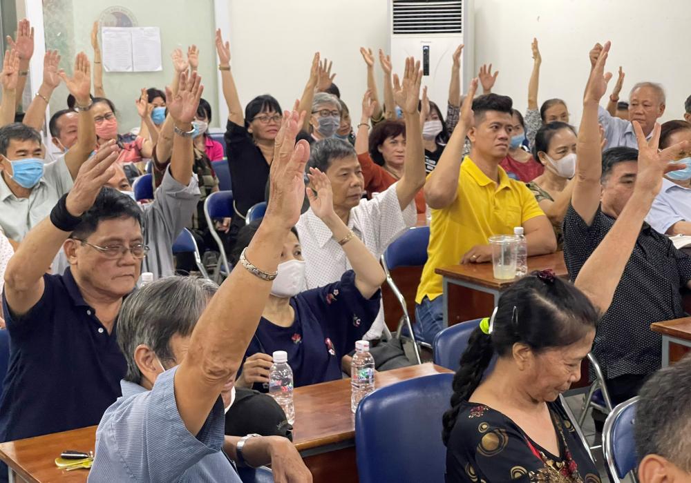 67 cử tri dự Hội nghị đồng ý giới thiệu bà Trần Thị Diệu Thúy ứng cử ĐBQH khóa XV.