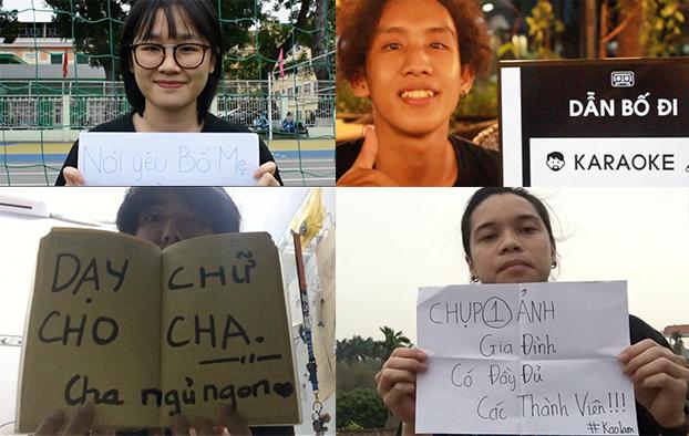 Những thông điệp ý nghĩa được fan gửi về.