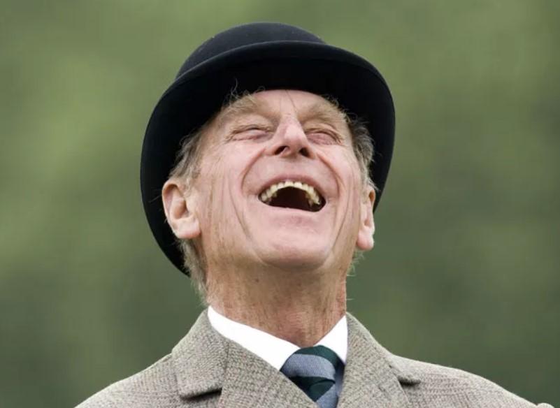 Dường như không có giới hạn nào cho có hài hước của Hoàng thân Philip