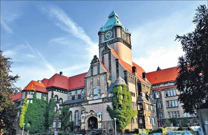 Trường Đại học TU Dresden, nơi ông Hans-Ulrich Wittchen làm việc - Ảnh: Telangana Today