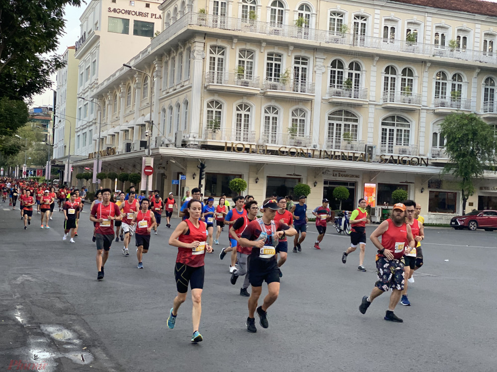 """Trước đó, năm 2019, giải Marathon Quốc tế TPHCM Techcombank lần thứ 3 cũng thu hút hơn 13.000 vận động viên trong nước và quốc tế với chủ đề: """"Một cung đường xanh, một thành phố xanh""""."""