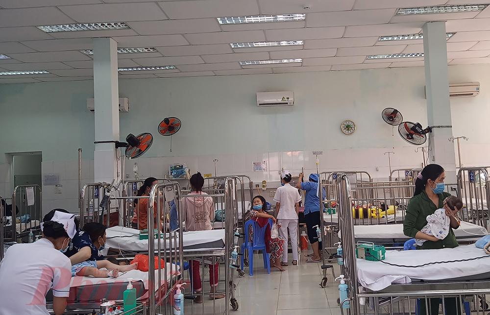 Nhiều trẻ bị hô hấp do ngủ máy lạnh