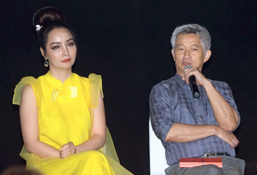 Đạo diễn Mai Thu Huyền và NSƯT Phi Tiến Sơn