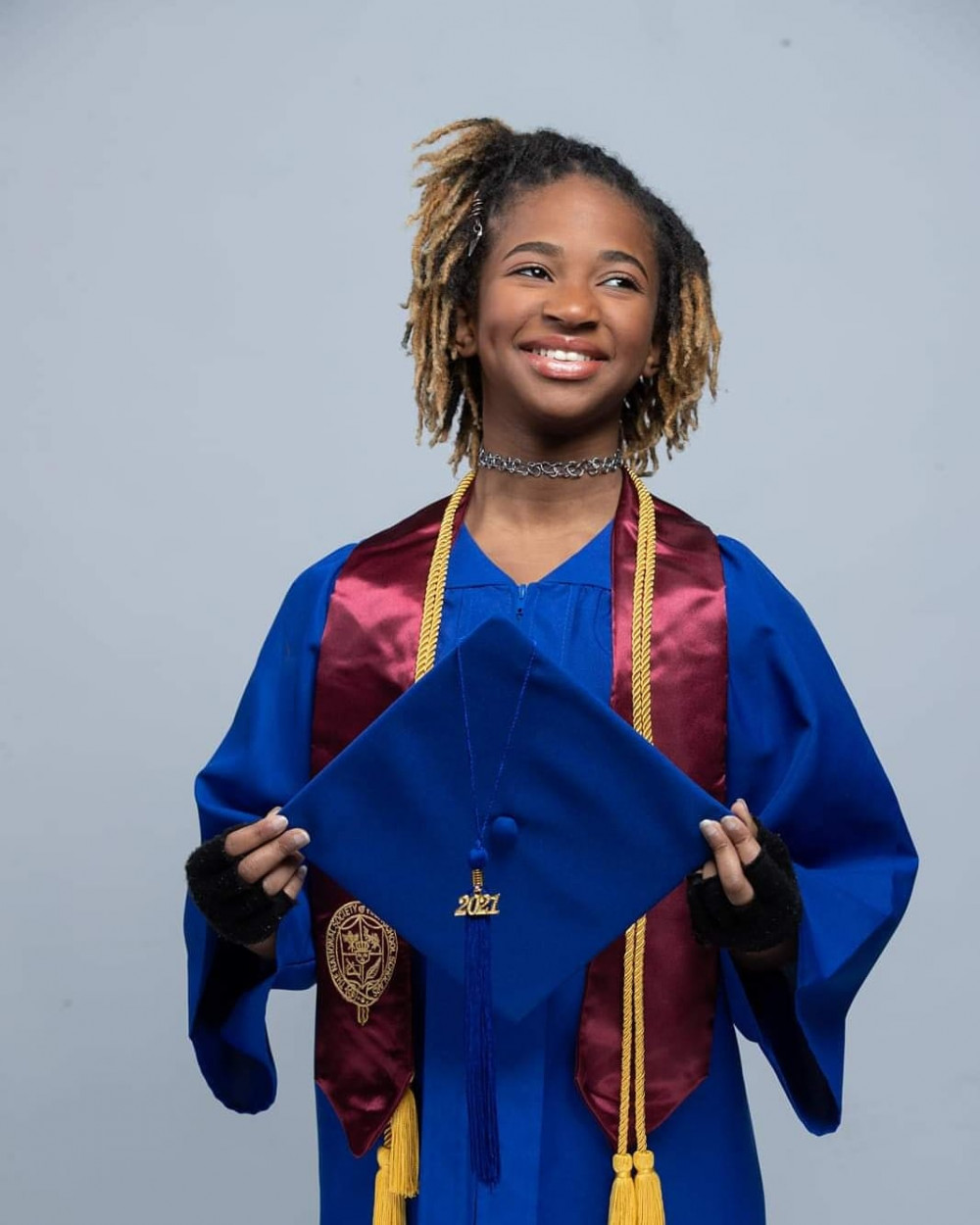 Cô bé Alena Wicker vào đại học khi mới 12 tuổi