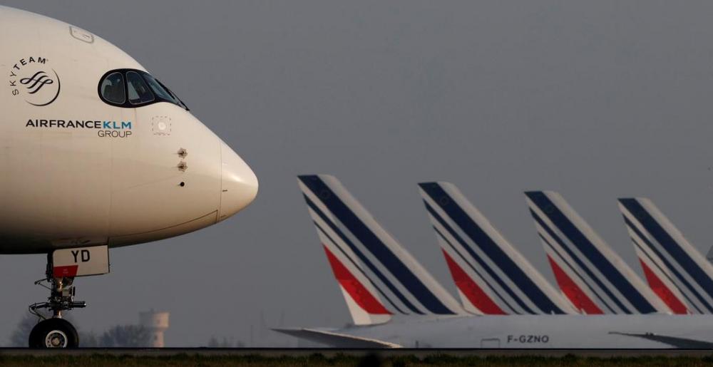 Quốc hội Pháp mới đây đã thông qua lệnh cấm các chuyến bay nội địa đường ngắn – tương đương 2 tiếng rưỡi đi bằng tàu hỏa - nhằm mục đích giảm lượng carbon phát thải - Ảnh: Reuters