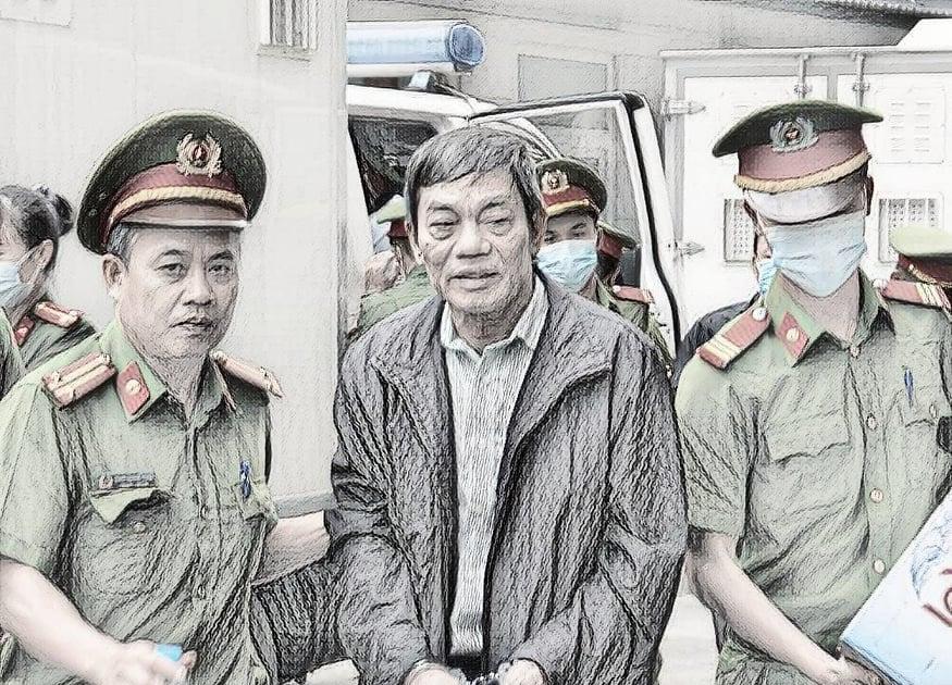 Bị cáo Mai Văn Tinh, nguyên chủ tịch HĐQT Tổng công ty Thép Việt Nam