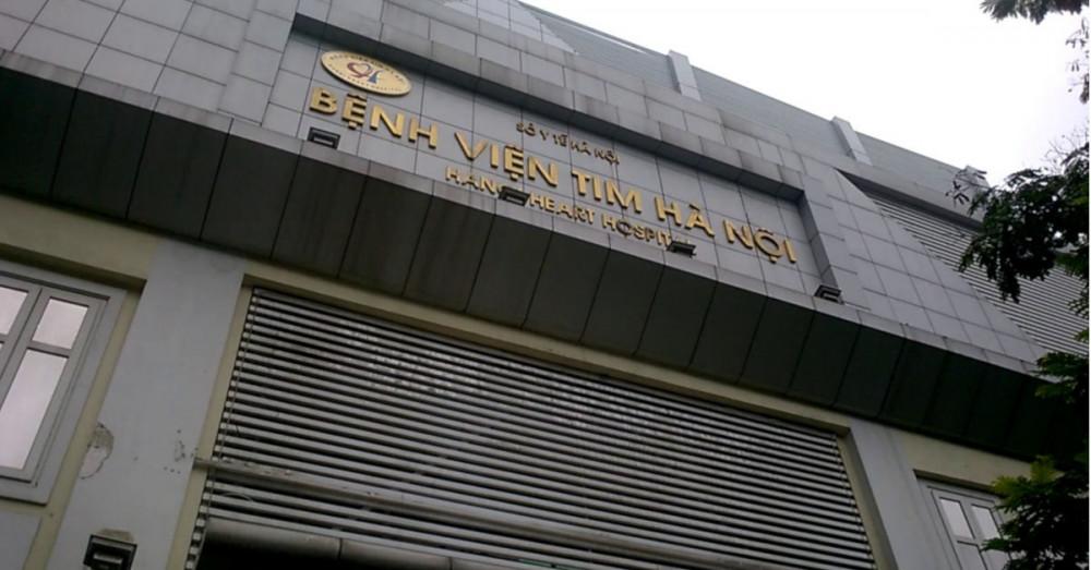 Cơ quan Công an đang làm việc với Bệnh viện Tim Hà Nội.