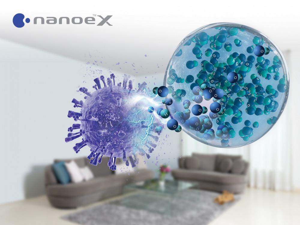 Chứng nhận của Texcell về hiệu quả ức chế vi-rút SARS-CoV-2 của nanoe™ X mở ra khả năng ứng dụng vô hạn của công nghệ này trong thực tế