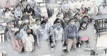 Các bị cáo trong đại án gang thép Thái Nguyên