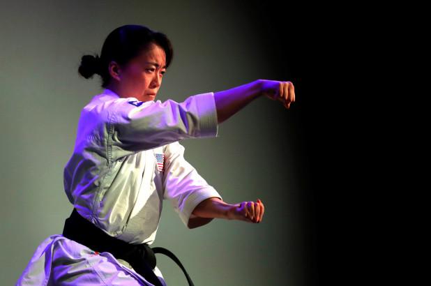 Nữ vận động viên Sakura Kokumai