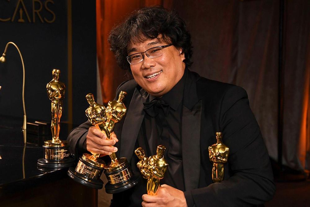Đạo diễn Bong Joon Ho và màn bội thu tại Oscar 2020.