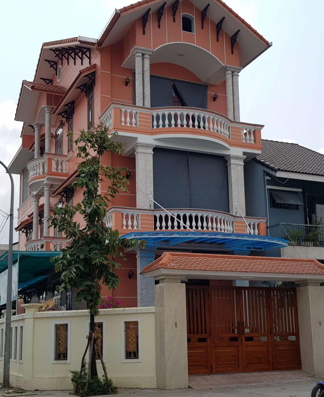 Một góc căn nhà trên lo đất A 7 của ông Huỳnh Cư, nguyên bí thư Thành ủy Huế