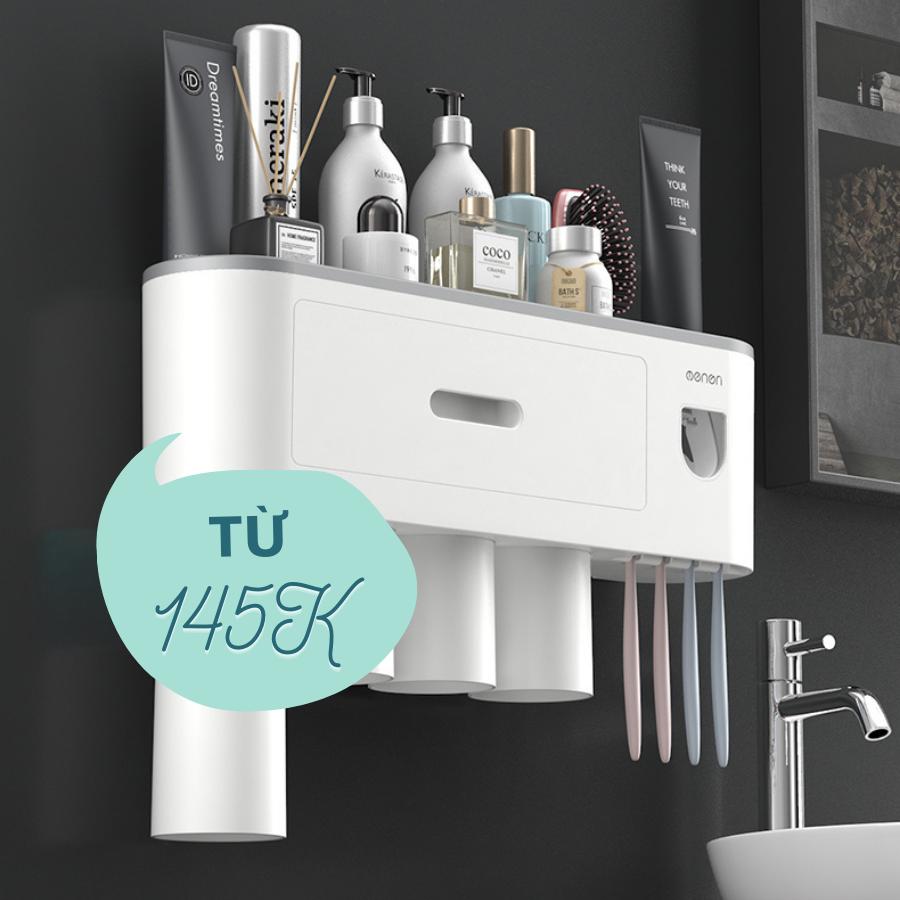 Kệ đa năng giúp phòng tắm của bạn trông ngăn nắp và hiện đại hơn hẳn