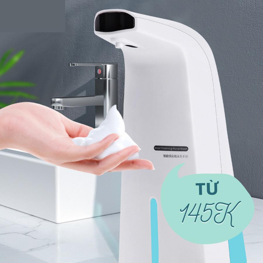 Máy rửa tay cảm ứng thích hợp sử dụng cho gia đình có nhiều thành viên