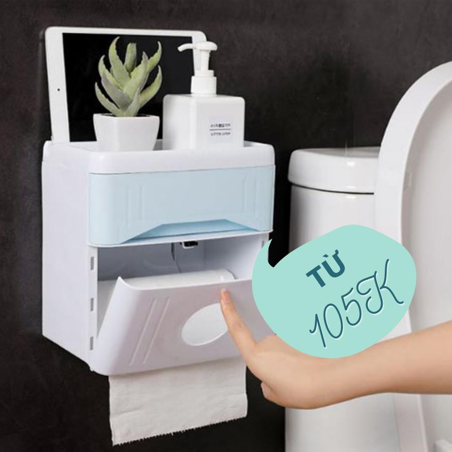 Hộp đựng giấy nhiều ngăn giúp bạn tận dụng tối đa không gian sử dụng