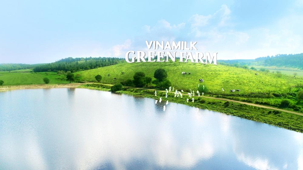 Hình ảnh trang trại sinh thái Vinamilk Green Farm