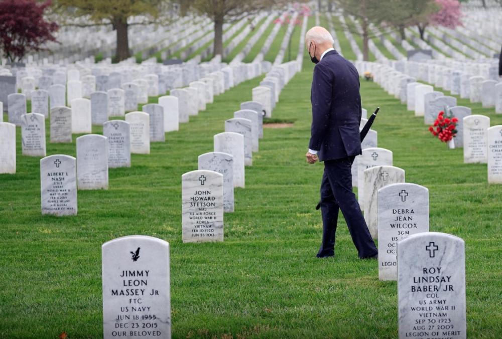 Ông Joe Biden quyết đi định chấm dứt cuộc chiến tranh dài nhất của nước Mỹ sau 20 năm