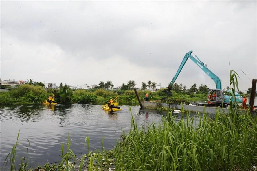 Kênh Tham Lương - Bến Cát - rạch Nước Lên dự kiến được cải tạo với tổng mức đâu tư 8.200 tỷ đồng
