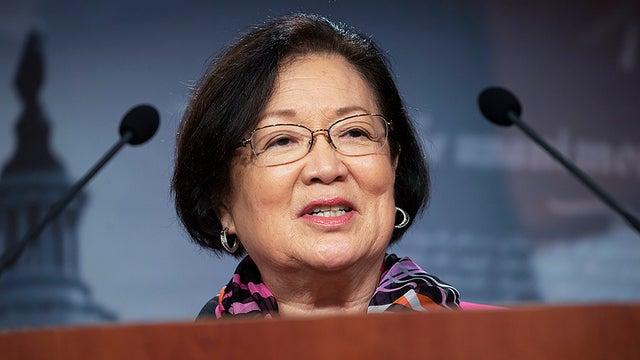 Thượng nghị sĩ Dân chủ Mazie Hirono (Hawaii), người đề xuất dự luật chống tội phạm thù hận người châu Á - Ảnh: The Hill/Bonnie Cash