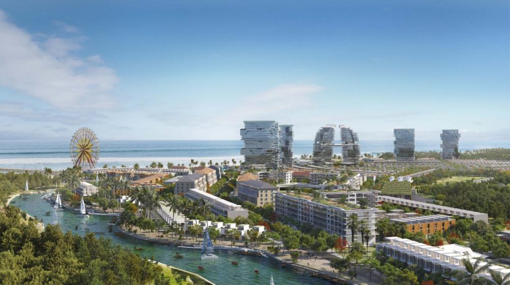 """Dự án Venezia Beach - Luxury Residences & Resort sắp ra mắt thị trường đang trở thành """"điểm nóng"""" ở Hồ Tràm - Bình Châu"""