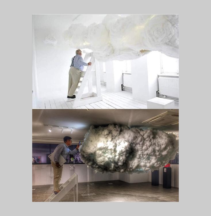 Tác phẩm của Hoài Bảo Nam (dưới) đươc so sánh với tác phẩm của Matsuri Yamana từng được giới thiệu năm 2014