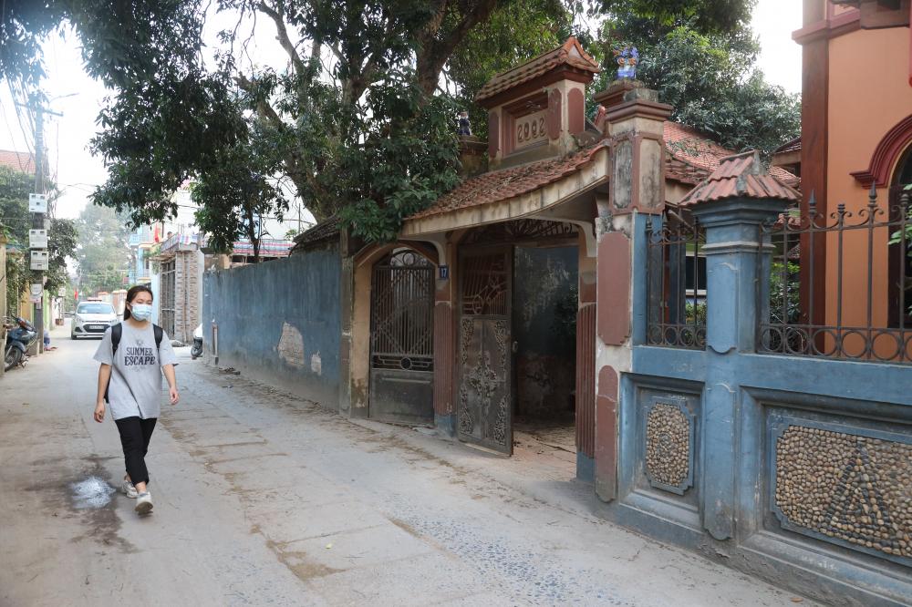 Nhà của ông Phạm Văn Dộc (80 tuổi) nơi thứ 2 còn lại lối vào địa đạo Nam Hồng