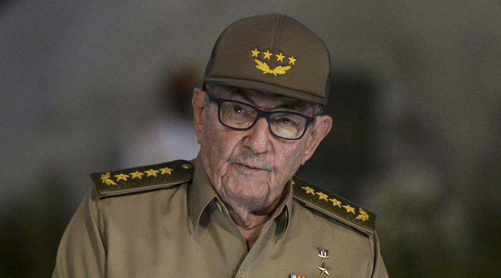 Raul Castro có bài phát biểu trong lễ kỷ niệm 60 năm cuộc cách mạng Cuba, tháng 1/2019.