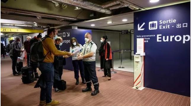 Pháp kiểm dịch bắt buộc đối với những du khách đến từ Argentina, Brazil, Chile và Nam Phi