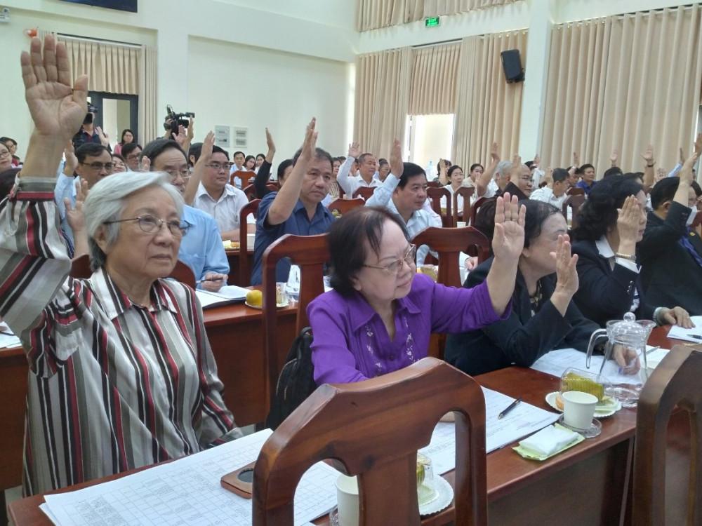 Biểu quyết hình thức tín nhiệm bằng phiến kín tại Hội nghị