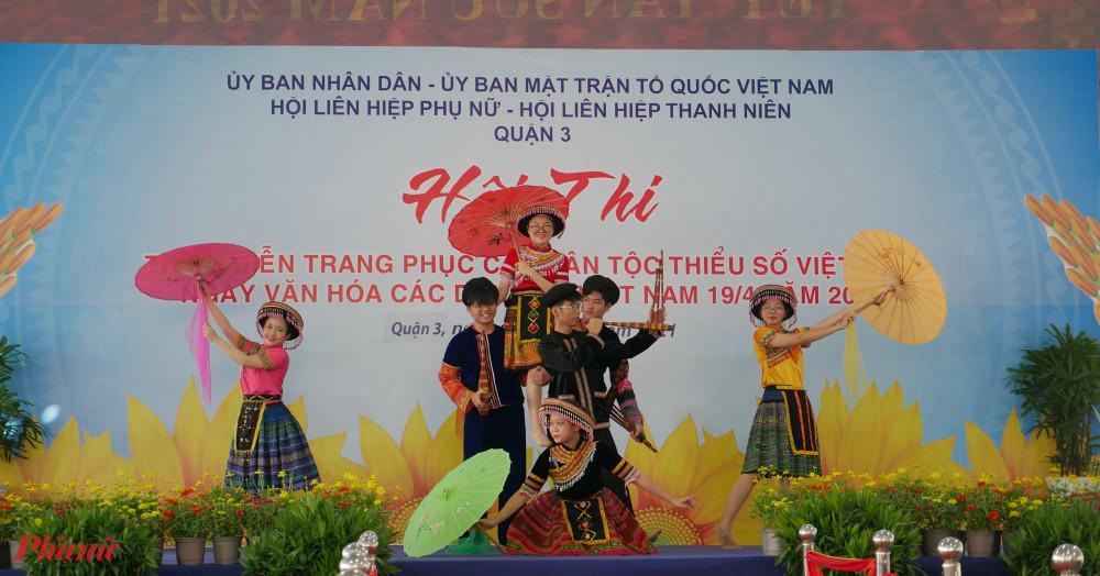 Các đội thi đã có sự đầu tư và tiển hiểu trang phục truyền thống các dân tộc