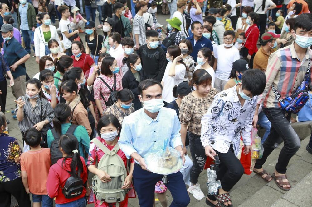heo BTC, từ 1/3 Âm lịch đến nay, mỗi ngày đền Hùng đón nhận khoảng 3.000 du khách thập phương đến dân hương. Công tác đảm bảo an ninh trật tự sẽ được các lực lượng cảnh sát đảm nhiệm trong dịp Giỗ Tổ Hùng Vương.