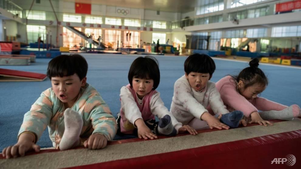 Trung Quốc có chiến lược đầu tư đào tạo vận động viên đỉnh cao ngay bằng cách tuyển chọn trẻ em từ độ tuổi còn rất nhỏ - Ảnh:Nicolas Asfouri