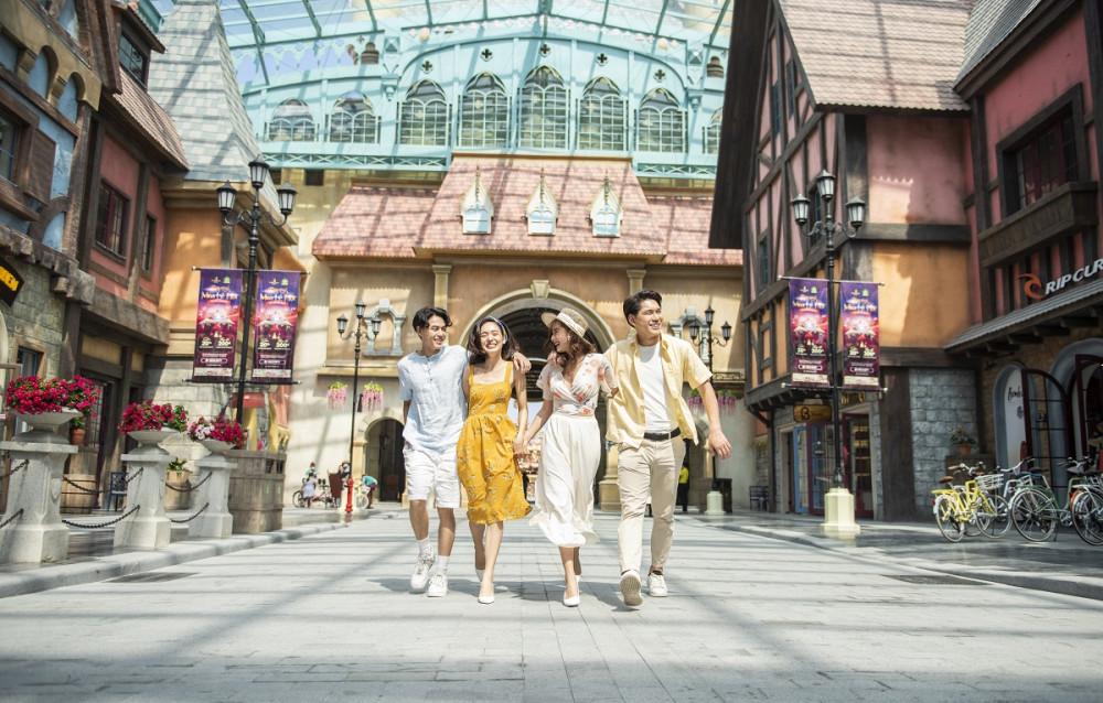 """Siêu quần thể du lịch nghỉ dưỡng Phú Quốc United Center hứa hẹn trở thành """"điểm đến quốc tế mới"""" của châu Á. Ảnh: Vingroup"""