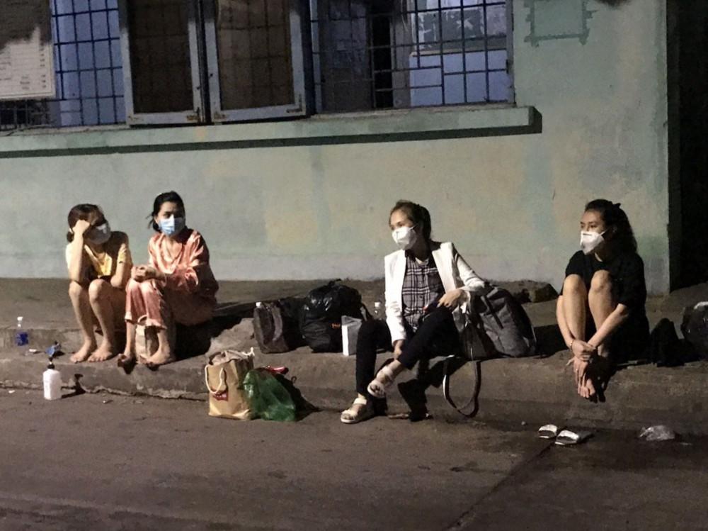 Những người nhập cảnh trái phép vào rạng sáng 20/4 bị phát hiện